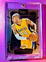 Kobe Bryant PANINI SELECT EMBOSSED 2015-16 BASKETBALL CARD # 7  Mint + Nice Case