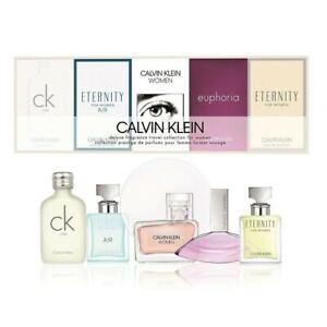 CK Calvin Klein Gift Set Women Deluxe Fragrance Travel Collection **Brand New**