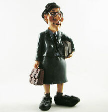 Female School Teacher Figure Figurine Birthday Gift Teaching Statue Cake Topper