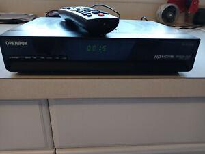 Original Openbox S9 Digital Satellite TV Receiver PVR HD TV Box w/remote Fta