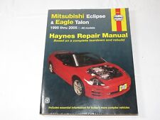 Haynes Repair Manual: Mitsubishi Eclipse and Eagle Talon 1995 Thru 2005 by John