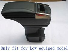 Black Storage Box Armrest Centre Console for Kia K2 RIO 2012 2013 2014