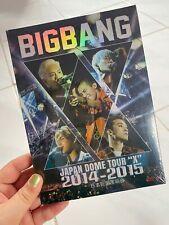 """Kpop Korean Pop Big Bang Japan Dome Tour """"X"""" 2014-2015 Concert DVD"""