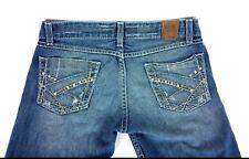 BKE Buckle Womens Jeans 27 X 31.5 Stella Skinny Boot Stretch Medium Wash Denim