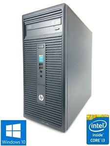 HP 280 G1 MT - 500GB HDD, Intel Core i3-4160, 8GB RAM - Win 10 Pro