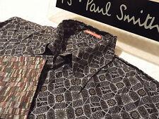 """Paul Smith Da Uomo Camicia 🌍 taglia S (circonferenza petto 40"""") 🌎 RRP £ 95+ 📮 floreale geometrico"""