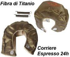 PROTEZIONE TERMICA TURBO IN TITANIO T25 T28 T3 GT25 GT28 GT30, GT32, GT35,