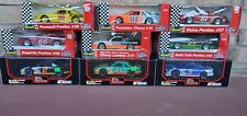 Lot (9) Nascar 1:24 Revell & Racing Champions Diecast Stockcars - Mellow Yellow