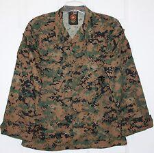 USMC BDU MARPAT Woodland Camouflage Combat Blouse Shirt ~ Small X-Short
