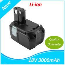 18V 3.0AH Li-Ion Batterie pour HITACHI EBM1830 BCL1815 DH18DL DS18DL DV18DL