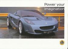"""Lotus M 250 Ventas """"Folleto"""" / hoja de mediados de 2000 de la"""