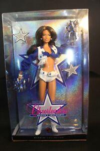 Barbie ~ Dallas Cowboys Cheerleaders Brunette Doll - #M2318 - NRFB