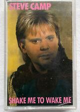 Shake Me to Wake Me - Steve Camp, scarce Cassette 1985. Christian Music