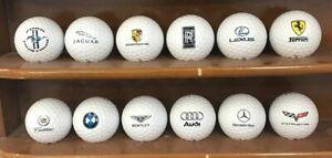 1 Dozen (Luxury Automobile Logos) Titleist Tour Soft Collectors Golf Balls