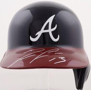 🔥Ronald Acuna Jr. Signed Atlanta Braves Full Size Batting Helmet (JSA COA)
