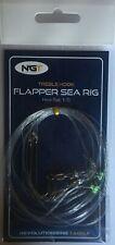 Sea Fishing Flapper Rig - 3 Hook Flapper Size 1/0