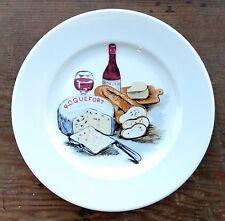 Winterling Bavaria Roquefort bordeaux Kuchenecke Käse Vorspeise Teller Deutschland