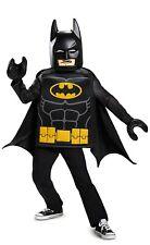 Lego Batman Costume Child Large 10-12 Youth Boys Batman Movie Dc Comics New