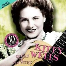 FREE US SHIP. on ANY 2 CDs! NEW CD Wells, Kitty: Queen of Country Music