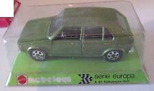 Mebetoys VW VOLKSWAGEN GOLF A87 1/43 Mattel Serie Europa nuova in box VERDE