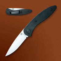 Stone River Gear Ceramic Folding Knife with G10 Handle SRG2GLW