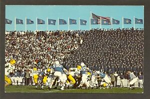 POSTCARD:  NCAA FOOTBALL GAME - FALCON STADIUM, COLORADO SPRINGS - MIAMI vs USAF