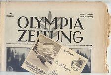 17.02.1936 OLYMPIA ZEITUNG Number 13 - Olympic Games Garmisch-Partenkirchen 1936