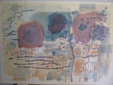 "Israeli Art - A.STEMATSKY - Abstract - S/N - L/E - 41""x29"" - Full Paper Size"