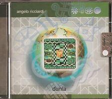 ANGELO RICCIARDI - DUNIA - CD NUOVO