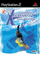 ESPN X Games Snowboarding PS2 Playstation 2