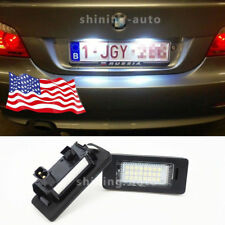 car Canbus White LED License Plate lamp bulb for BMW E39 E46 E60 E90 E92 E70 F1