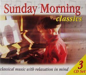 Sunday Morning Classics 3-CD Box Set (CD, 2001, Legacy Entertainment)