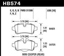 Disc Brake Pad Set fits 2006-2015 Mini Cooper Cooper Countryman Cooper Paceman