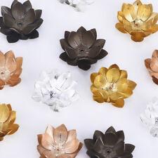 26mm Large three layer flower bead cap brass flower Jewelry Finding 10pcs 102391