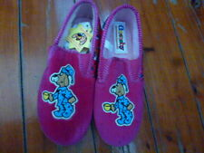 Girls Slippers Grosby Pink Glow In The Dark Visual Slippers Size 12