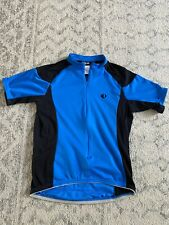 Men's Pearl Izumi Select UltraSensor Cycling Jersey Black Blue Semi-Fitted Large