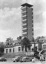 AK, Berlin Köpenick, Müggelturm und HO-Gaststätte, belebt, 1963