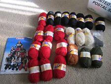 Dale of Norway St Moritz 2003 Norwegian National Ski Team Sweater Yarn & Pattern