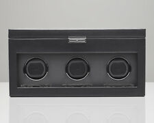 WOLF Viceroy 2.7 Triple Watch Winder with Storage Battery Powered NEW