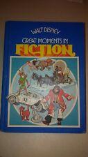Walt Disney Great Moments in Fiction Vintage Book 1977 Robin Hood Herbie Jungle