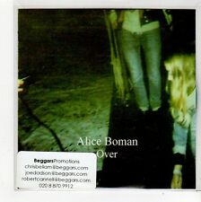 (FO404) Alice Boman, Over - 2014 DJ CD