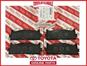 2008-2018 TOYOTA AVALON FRONT CERAMIC BRAKE PADS GENUINE OEM 04465-AZ216