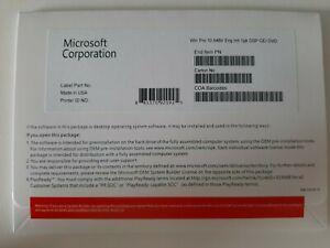 (5 Pieces) Windows 10 Pro 64 Bit DVD + NEW & SEALED Activation COA Sticker Key