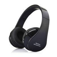 Bluetooth Headset Wireless Stereo Headphones Earphones w/ Mic Foldable