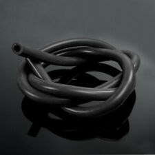 "Black 6mm 1/4"" Full Silicone Fuel/Air Vacuum Hose/Line/Pipe/Tube 1Meter 3.3ft"