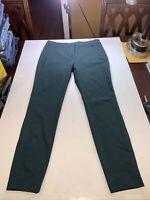 NEW White House Black Market The Skinny Ankle Dark Green Pants Size 6