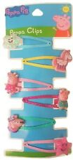 Peppa Pig Hair clips - set of 6 Official and Licensed UK Seller