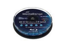 Mediarange - BD-R 50 GB, Blu-ray-Rohlinge Hardware/Electronic Mediarange NEU