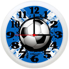 "Scotland Football Clock, Football Wall Clock, 9"" in"