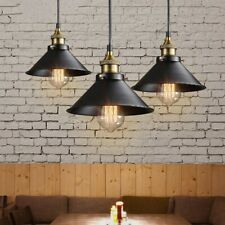 Colgante Industrial Retro Loft Lámpara de Techo de luz de metal hogar accesorio más reciente uso